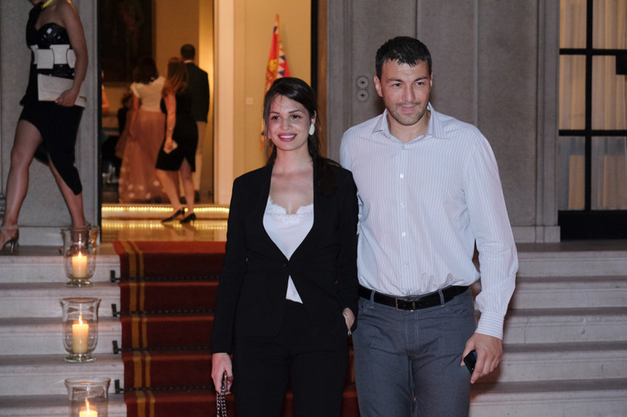 Vlada Mandić i supruga Jasmina