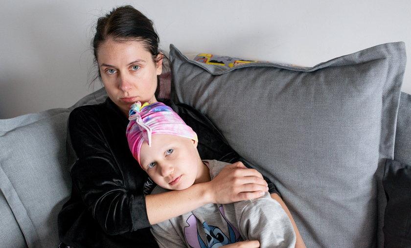 8-letnia Oliwia przeżyła w życiu więcej niż niejeden dorosły.