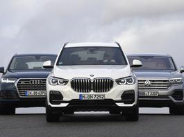 SUV-y z ekstraklasy: Audi Q7, BMW X5 i VW Touareg