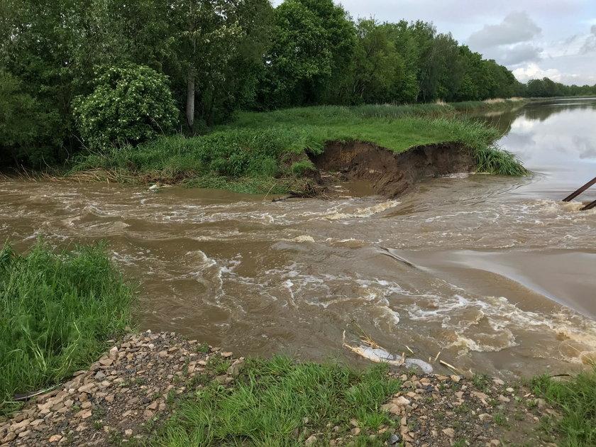 Powódź w Izbiskach