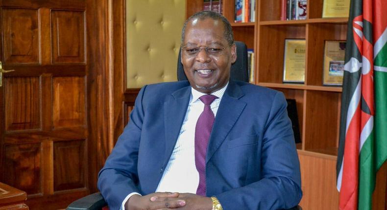 National Assembly Majority Leader Amos Kimunya