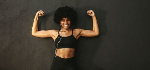 A healthy diet and standard exercise routine can reduce the entire body fat ratio [DHerbs]