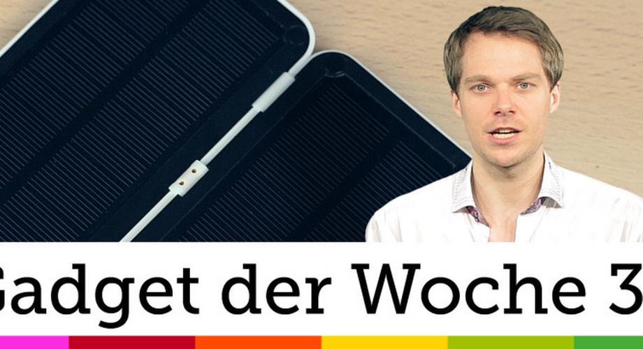 Gadget der Woche 32: Vooni Solar Charger Mini