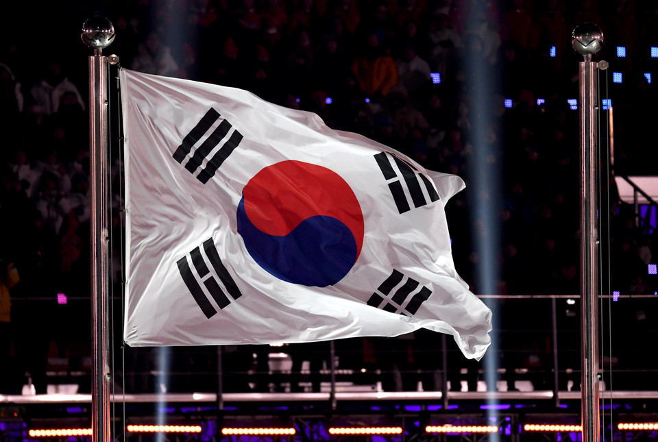 epa06508160 - SOUTH KOREA PYEONGCHANG 2018 OLYMPIC GAMES (Opening Ceremony - PyeongChang 2018 Olympic Games)