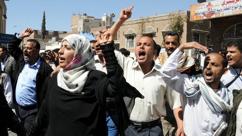 Tysiące demonstrantów w stolicy Jemenu