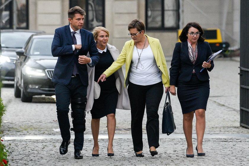 Delegacja .Nowoczesnej u prezydenta