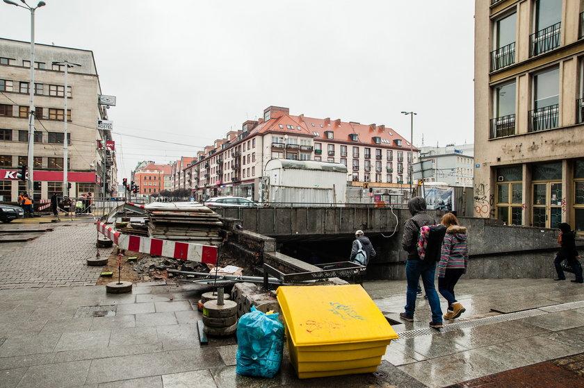 Ostatnie chwile Przejścia Świdnickiego we Wrocławiu