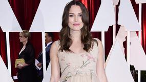 Oscary 2015: Keira Knightley vs. Sophie Hunter. Która hollywoodzka przyszła mama wyglądała lepiej?