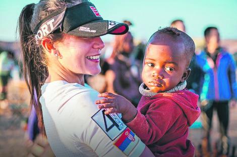 Za trku održanu u namibijskom delu Sahare kaže da joj je bila najteža u životu: Marina u Namibiji