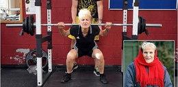 Ma 66 lat, dźwiga 100 kg!