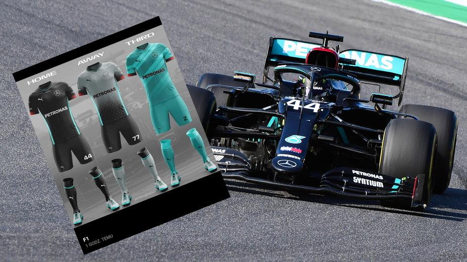 Stroje piłkarskie inspirowane F1