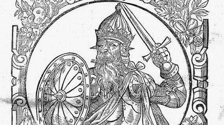 Lech I - legendarny władca Polski (domena publiczna)