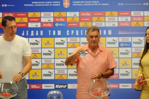 ŽREB ZA KUP SRBIJE Crvena zvezda putuje na Kosmet, Partizan gostuje Vodojaži
