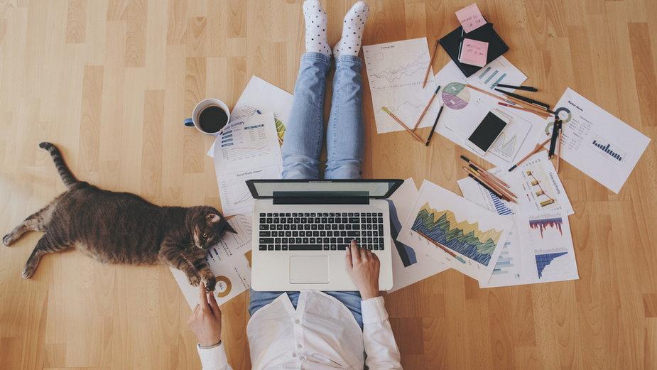 Praca zdalna wpływa na nasze samopoczucie