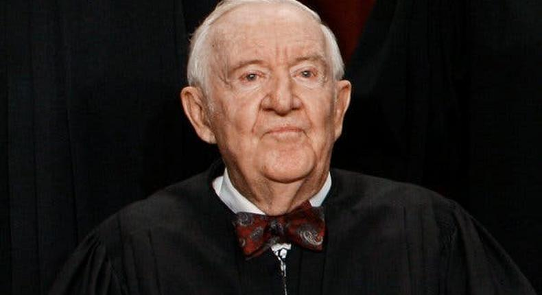 John Paul Stevens praised for legal prowess and humble approach