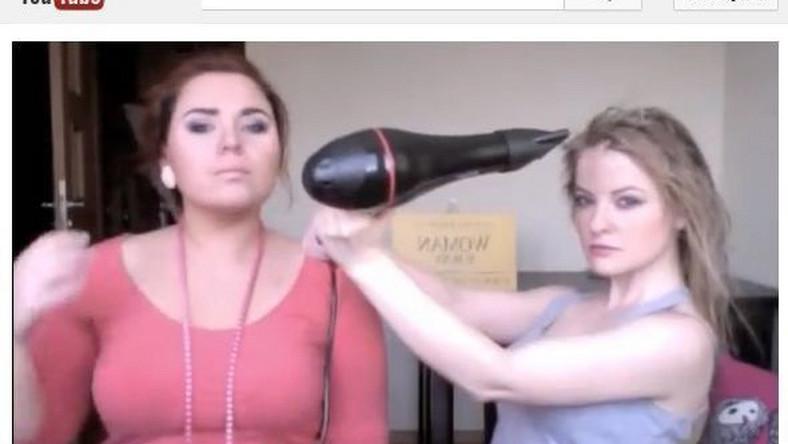 tutorial, jak suszyć mokre włosy