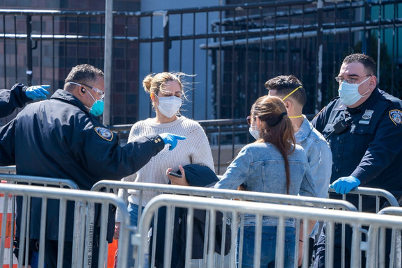 Korona virus u Njujorku