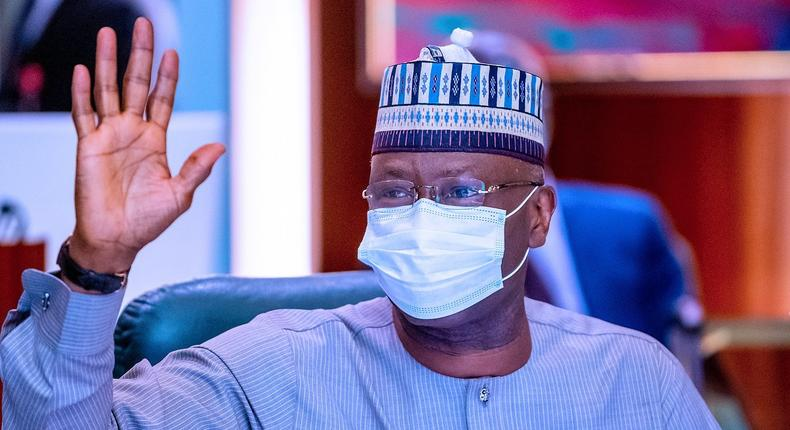 Secretary to the Government of the Federation and Chairman Presidential Steering Committee (PSC), on COVID-19, Boss Mustapha. [Presidency]