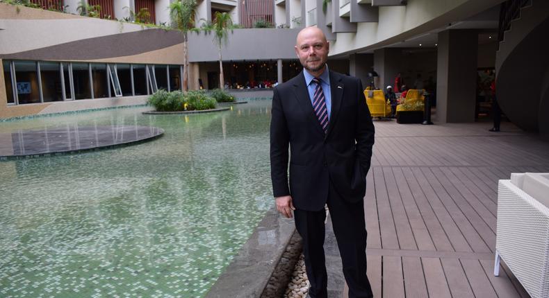 Gerard Moutou, Radisson Blu Hotel & Residence Nairobi Arboretum general manager. (courtesy)