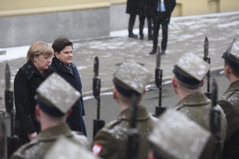 Angela Merkel z wizytą w Polsce