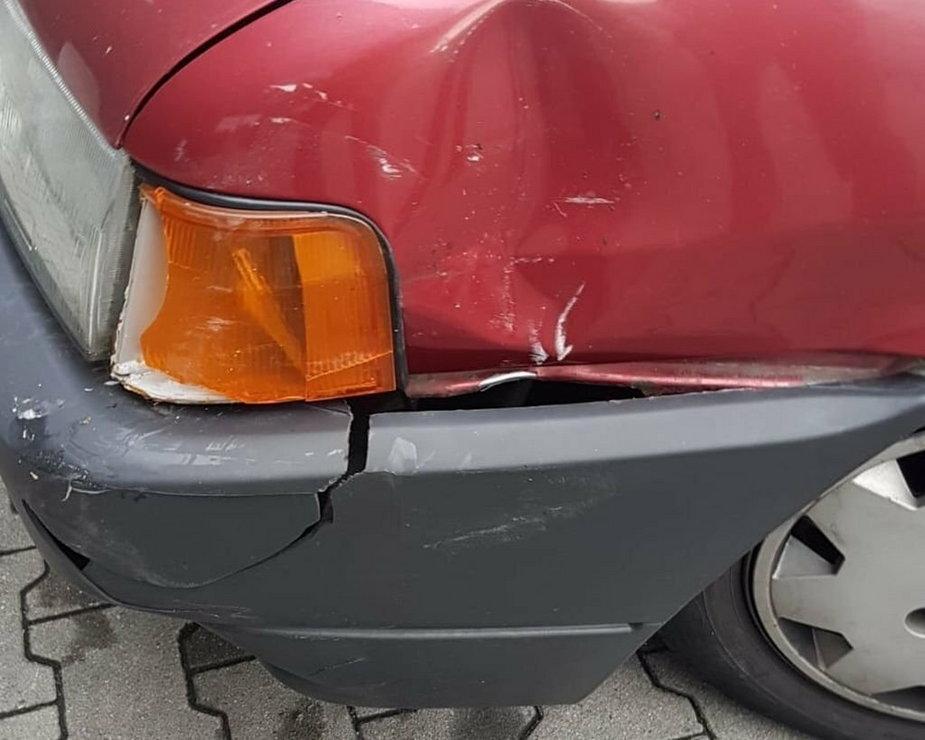 Uwaga na telefony o wypadku samochodowym