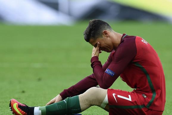 Neverovatna priča koja se krije iza fotografije RONALDA U SUZAMA: Dan kada je Portugal PLAKAO DVA PUTA!
