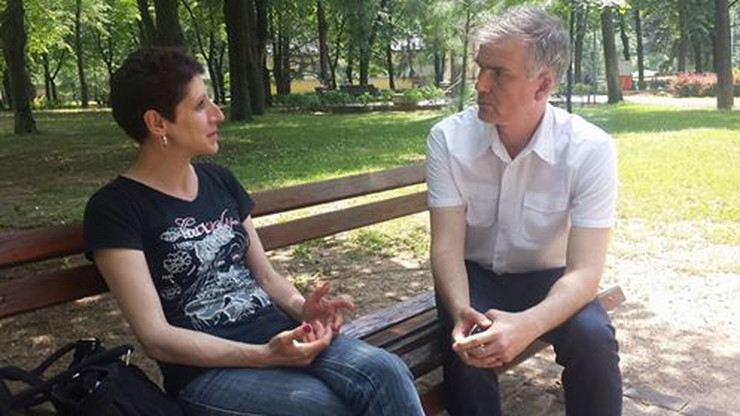 Dušan Milisavljević i Violeta Petrović