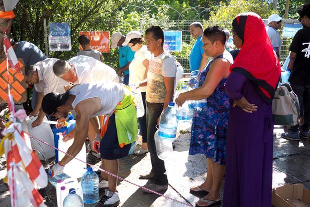 Ludzie pobierający wodę, Kapsztad