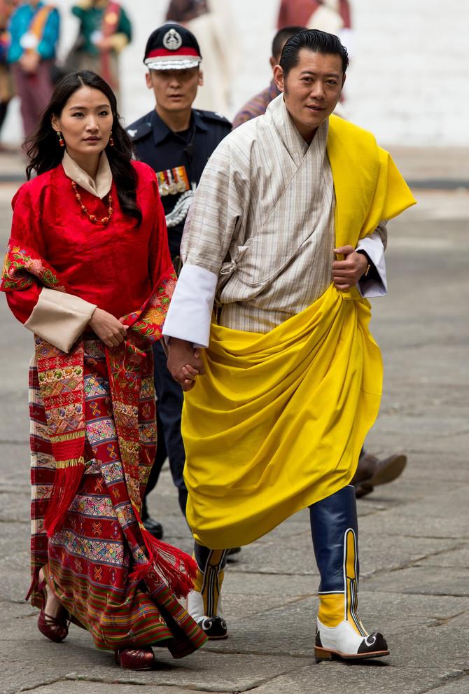 Kralj i kraljica Butana