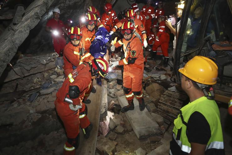 Kina, zemljotres