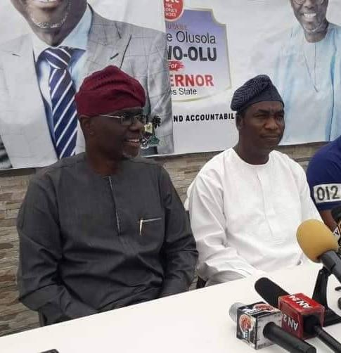 Babajide Sanwo-Olu (left) and Obafemi Hamzat (right) are both former Lagos commissioners