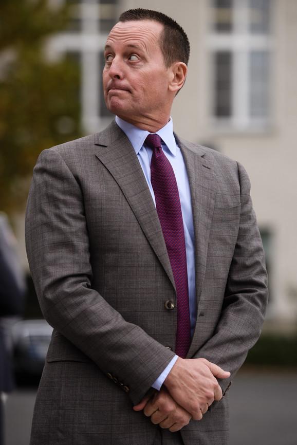 Trampov izaslanik za pregovore o Kosovu Ričard Grenel demantovao da postoji mogućnost razmene teritorija i naglasio da
