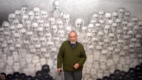 Szkodnik niszczy wystawę byłego więźnia Auschwitz
