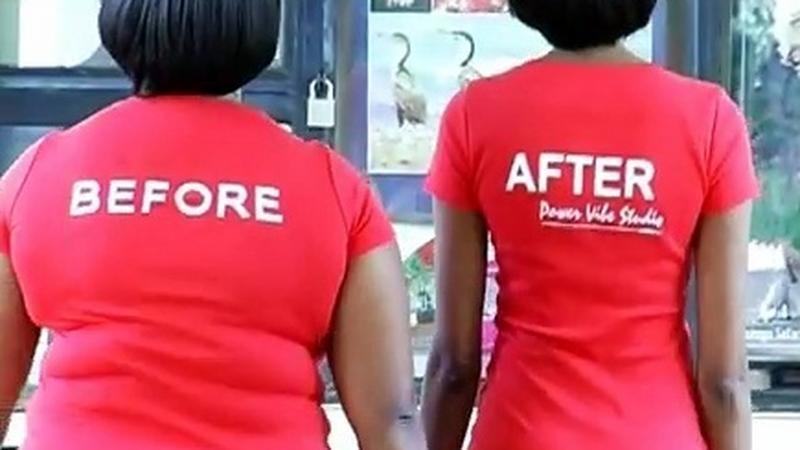 Kampania promująca klub fitness