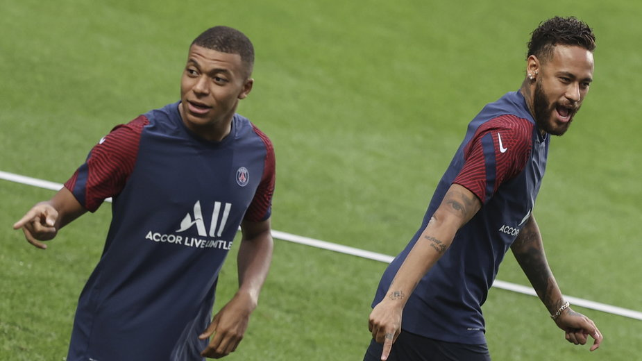Paris Saint-Germain - Kylian Mbappe i Neymar