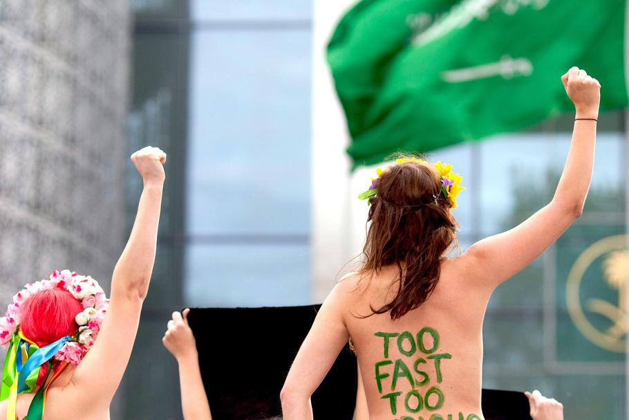 GERMANY PROTEST FEMEN