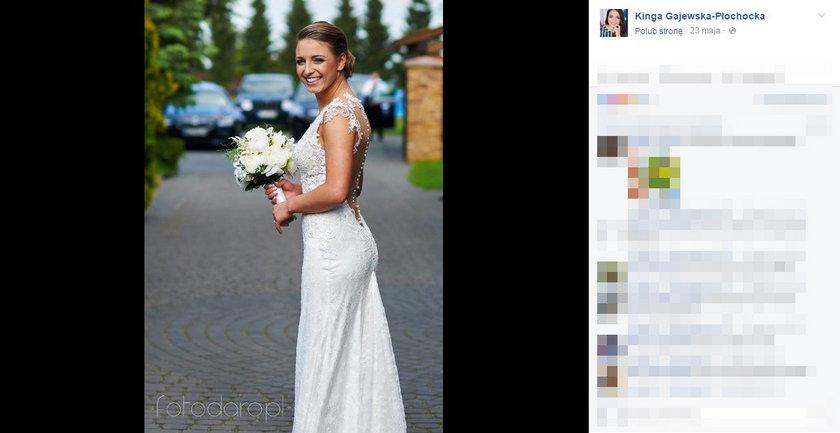 Posłanka wzięła ślub w maju ubiegłego roku