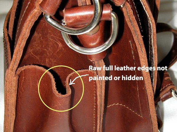 Leather edges(looksgud)