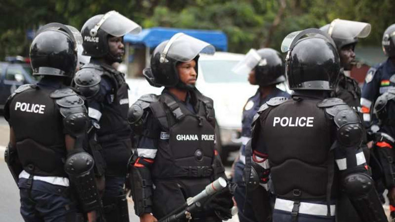 The police in Ghana
