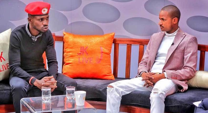Ugandan legislator Bobi Wine and his Kenyan counterpart Babu Owino