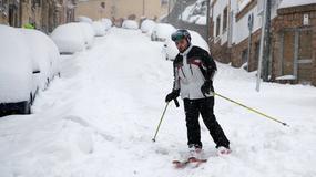 Atak zimy w Hiszpanii