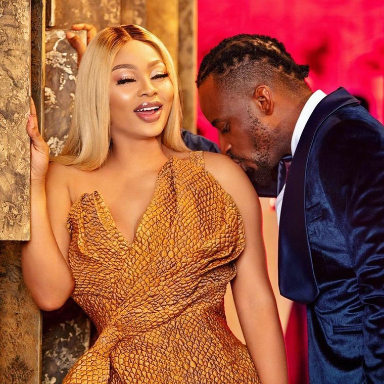 Sunkami and 9ice got married in 2019 and they have a daughter together [Instagram/LavishByMichelleEvents]