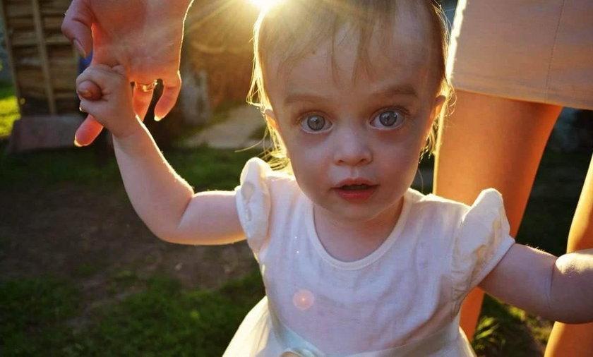 3-letnia Sofia pochodzi z Ukrainy