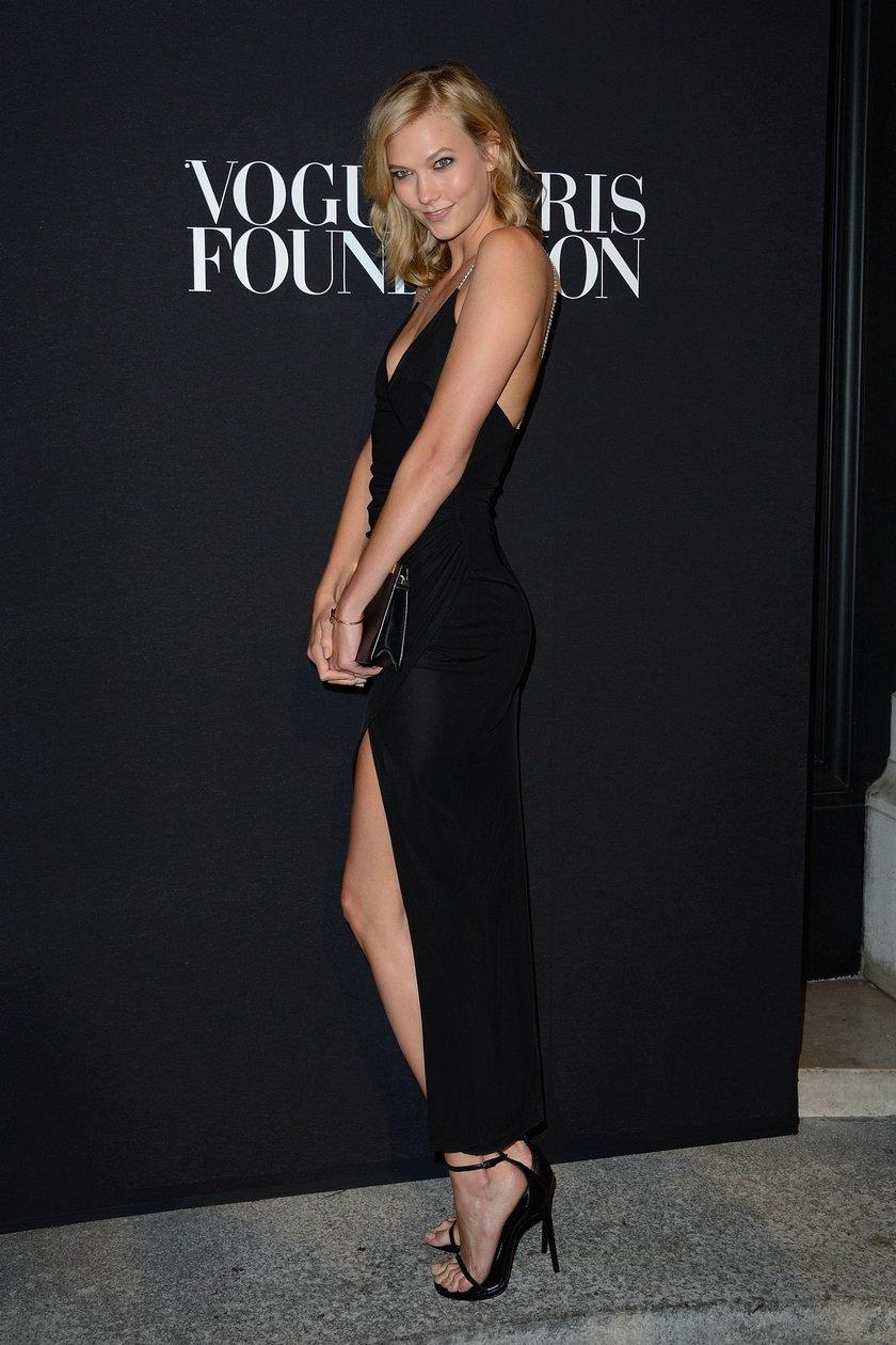 Karlie Kloss na gali Vogue Foundation