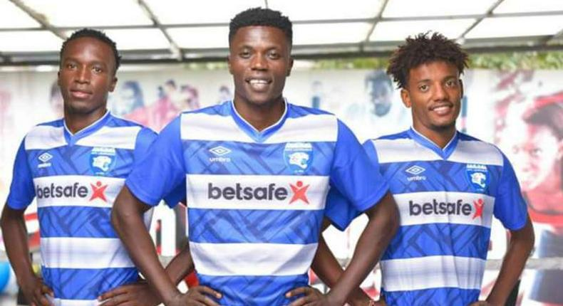 AFC Leopards Unveil New Home Kits with Betsafe Logo