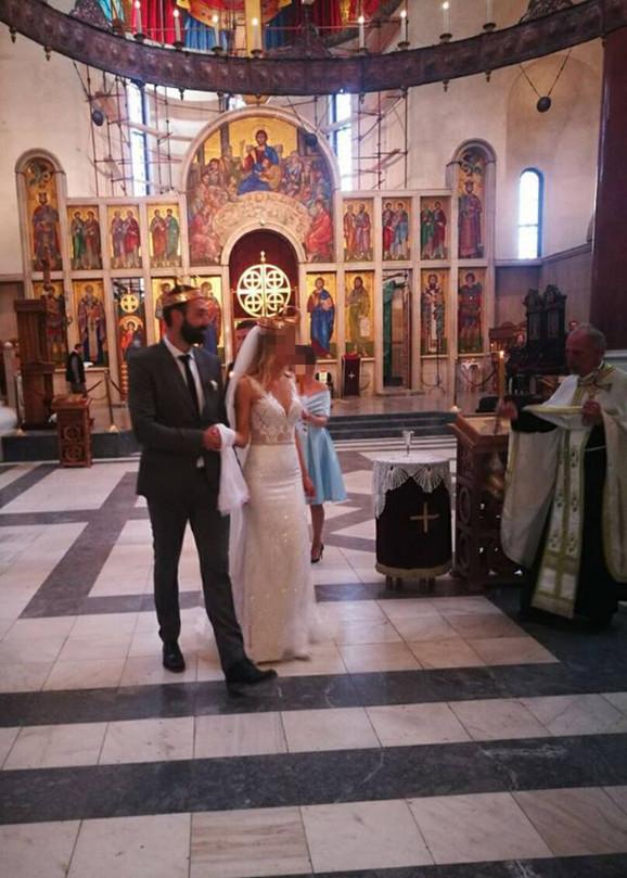 Filip Gavranović sa suprugom tri nedelje pre zločina