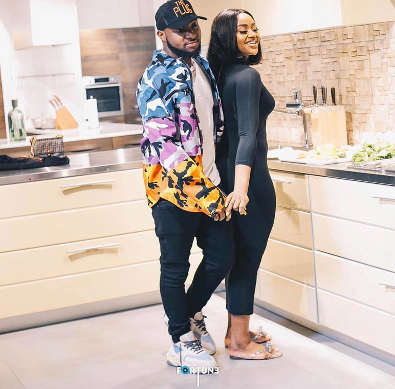 Photo of Davido and Chioma Avril is the cutest you will see today [Instagram/DavidoOfficial]