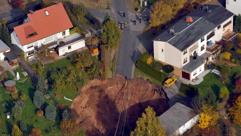 Krater w Schmalkalden