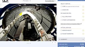 RocketBuilder - konfigurator rakiet kosmicznych