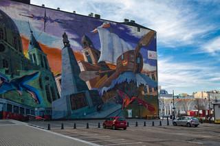 Murale, czyli sztuka wyniesiona na ulicę. Deweloperzy próbują wyróżnić swoje inwestycje